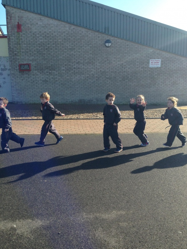 Ms Brennan's Junior Infants